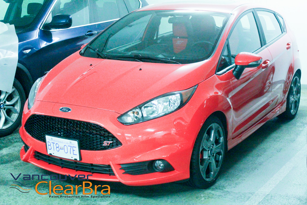 ford fiesta st xpel ultimate clear bra vancouver clearbra 3m xpel vancouver clear bra. Black Bedroom Furniture Sets. Home Design Ideas