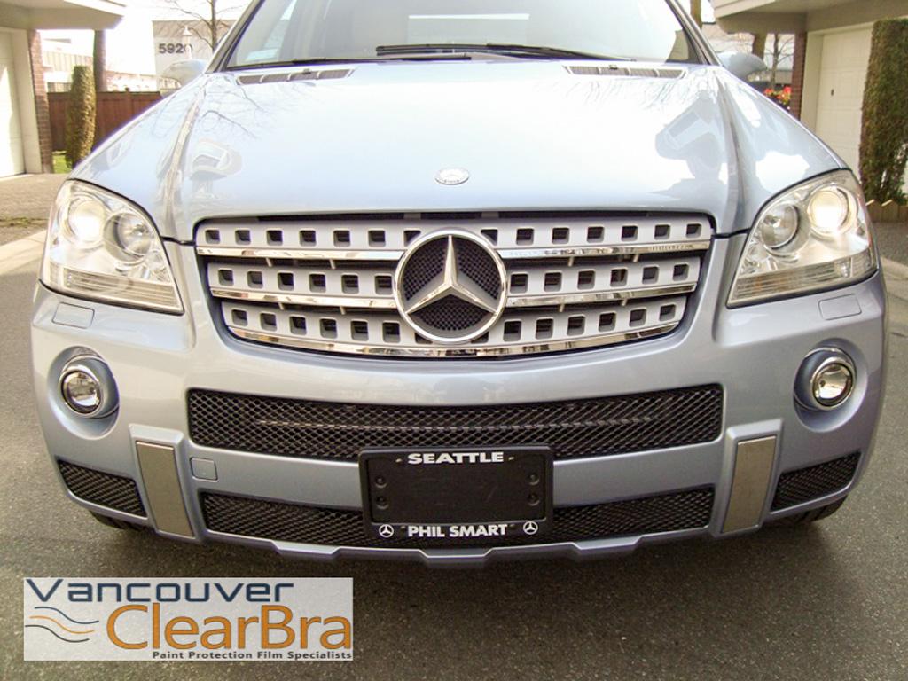 Mercedes benz vancouver clear bra paint protection film 3m for Mercedes benz vancouver