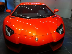 Vancouver-ClearBra-2014-Lamborghini-Avantador-Orange-Xpel-Ultimate-Paint-Protection-Film-finished-front-top