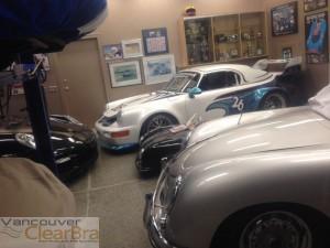 Vancouver ClearBra Porsche Xpel Ultimate Paint 3M Pro Protection Film garage